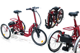 Tricycles pliants
