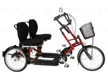 Tricycle tandem DUO