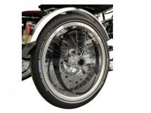 Protection rayons pour roues arrière