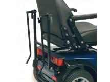 Support arriere de fauteuil roulant, 20 kg max