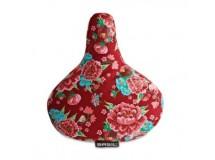 couvre selle à fleurs