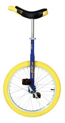 Monocycle QU-AX 20' Luxus bleu