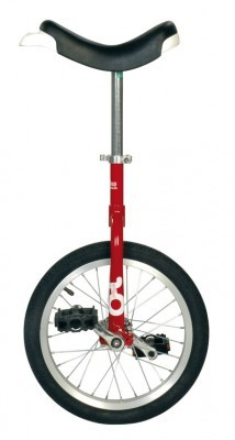 Monocycle OnlyOne 16' rouge