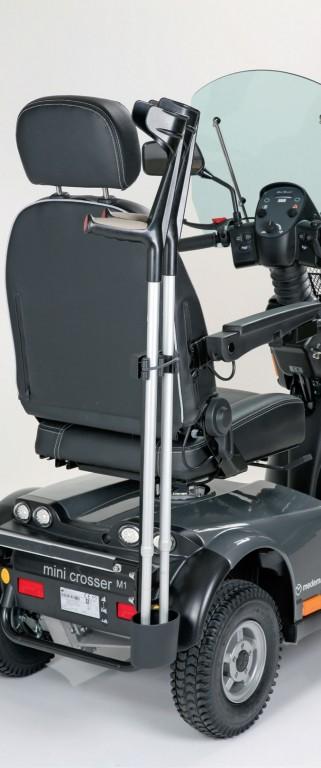 Adaptateur pour support Porte canne / paire de béquilles pour Mini Crosser HD